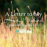 A Letter to My Unborn: Musings of a First-Time Mom