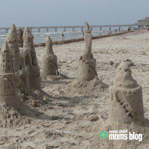 Things to Do- Corpus Christi Beach- Sandcastle