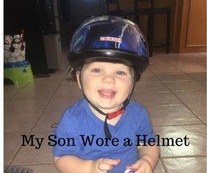 My Son Wore a Bike Helmet Collage- Corpus Christi Moms Blog