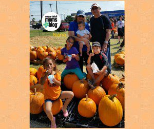 Nana at Pumpkin Patch
