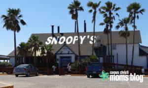 Snoopy's Pier- Corpus Christi Moms Blog Family Resource Guide to Visiting the Corpus Christi Area