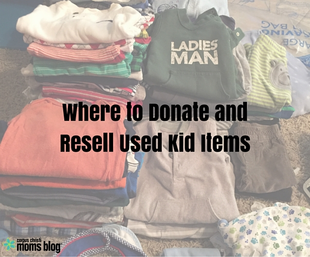 Where To Donate And Resell Used Kid Items