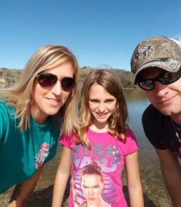 Family Fishing Trip at Lake Corpus Christi