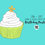 2016-2017 Corpus Christi Area Birthday Party Guide