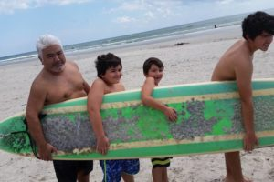 Longboarding at the Beach- Corpus Christi