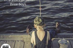little, boy, fishing, pier