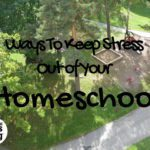 How to Keep Stress Out of Your Homeschool
