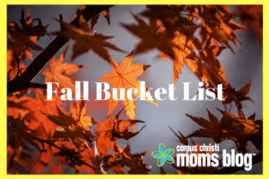 32 Ideas to Add to Your Family's Fall Bucket List- Corpus Christi Moms Blog