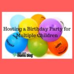 Hosting a Birthday Party for Multiple Children