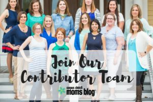 Join Our Contributor Team- Corpus Christi Moms Blog