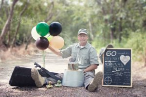 Lindsey Baker Photography- Cake Smash Photography for Dad- Corpus Christi Moms Blog