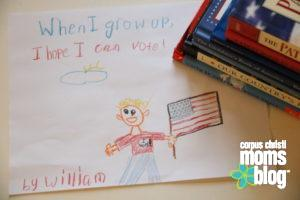 Our Moral Obligation {Parents Need to Vote}- Corpus Christi Moms Blog
