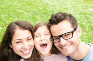 Family with Spectera Insurance- Complete Family Eye Care- Corpus Christi Moms Blog