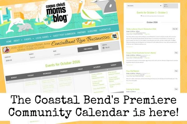 the-coastal-bends-premiere-community-calendar-is-here