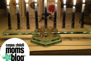 Festival of Lights- Celebrating Hanukkah- Menorah- Corpus Christi Moms Blog