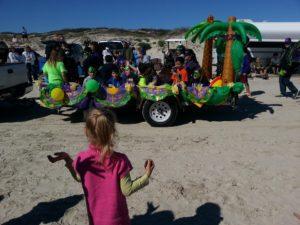 Mardi Gras Parade at the Beach- Corpus Christi Moms Blog