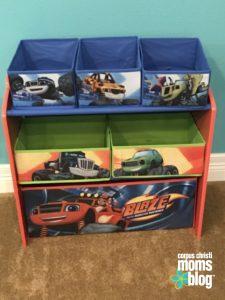 Blaze- A Toddler Craze- Blaze Toy Storage- Corpus Christi Moms Blog
