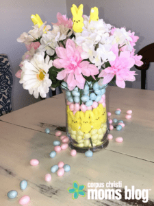 Create a Fun and Easy Dollar Store Easter Centerpiece on baskets at dollar tree, purses at dollar tree, markers at dollar tree, eggs at dollar tree, chocolates at dollar tree, books at dollar tree, sweets at dollar tree, bowls at dollar tree, candles at dollar tree, balloons at dollar tree, teapots at dollar tree, hats at dollar tree, boxes at dollar tree, jars at dollar tree, plates at dollar tree, cups at dollar tree, containers at dollar tree, dolls at dollar tree, frames at dollar tree, umbrellas at dollar tree,
