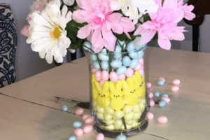 Dollar Tree Easter Centerpiece
