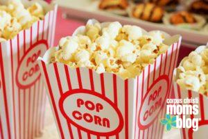 popcorn- Corpus Christi Moms Blog