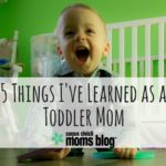 5 Things I've Learned as a Toddler Mom