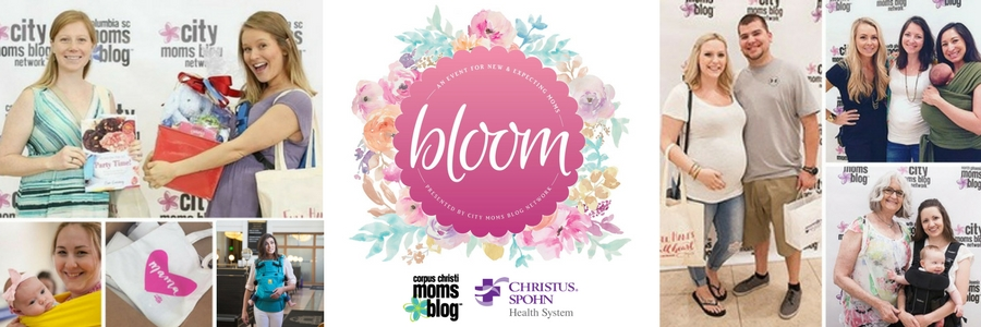 Bloom Event for New and Expecting Moms- Corpus Christi Moms Blog Top Event Picks