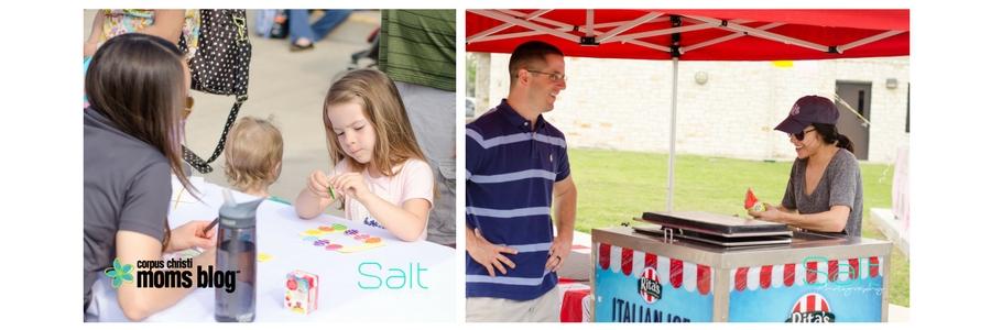 Corpus Christi Moms Blog 2017 Easter Egg Hunt- Salt Photography- Complete Family Eye Care and Rita's