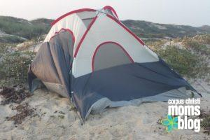 How Not to Camp on the Beach- Corpus Christi Moms Blog