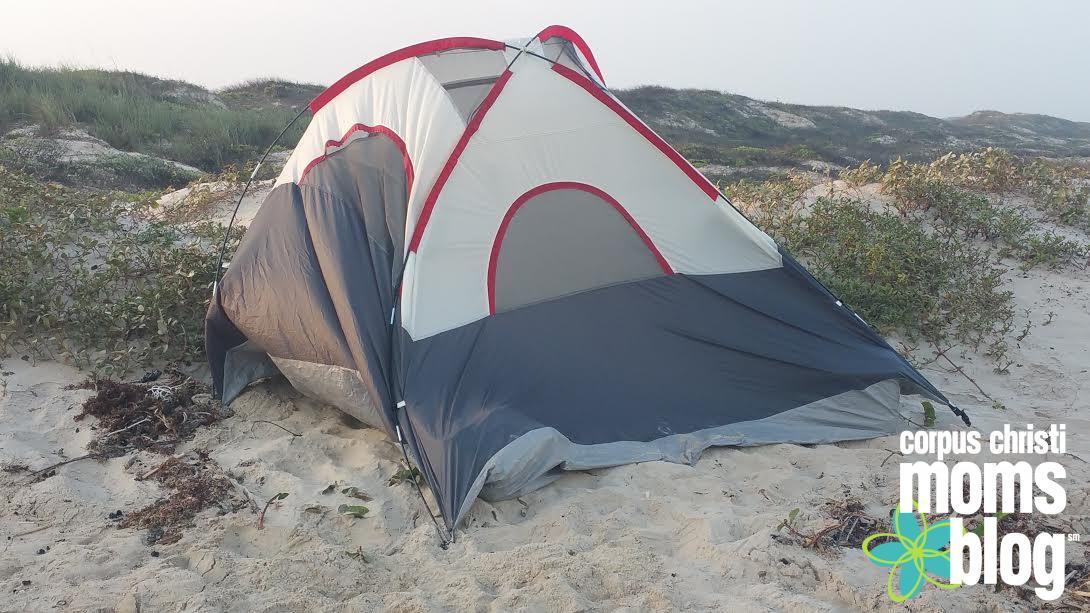 How Not to Camp on the Beach- Corpus Christi Moms Blog