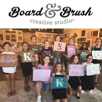 Board and Brush Platinum Birthday Party Guide Listing