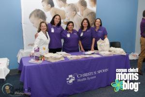 CHRISTUS Spohn Healthcare Team- Corpus Christi Moms Blog Bloom Event