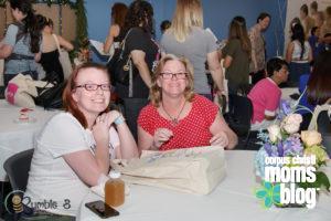 Castro's Flowers Arrangement- Corpus Christi Moms Blog Bloom Event