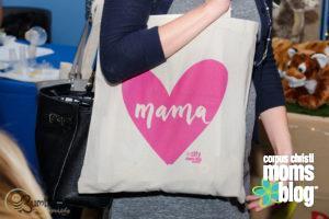 Swag Tote- Corpus Christi Moms Blog Bloom Event