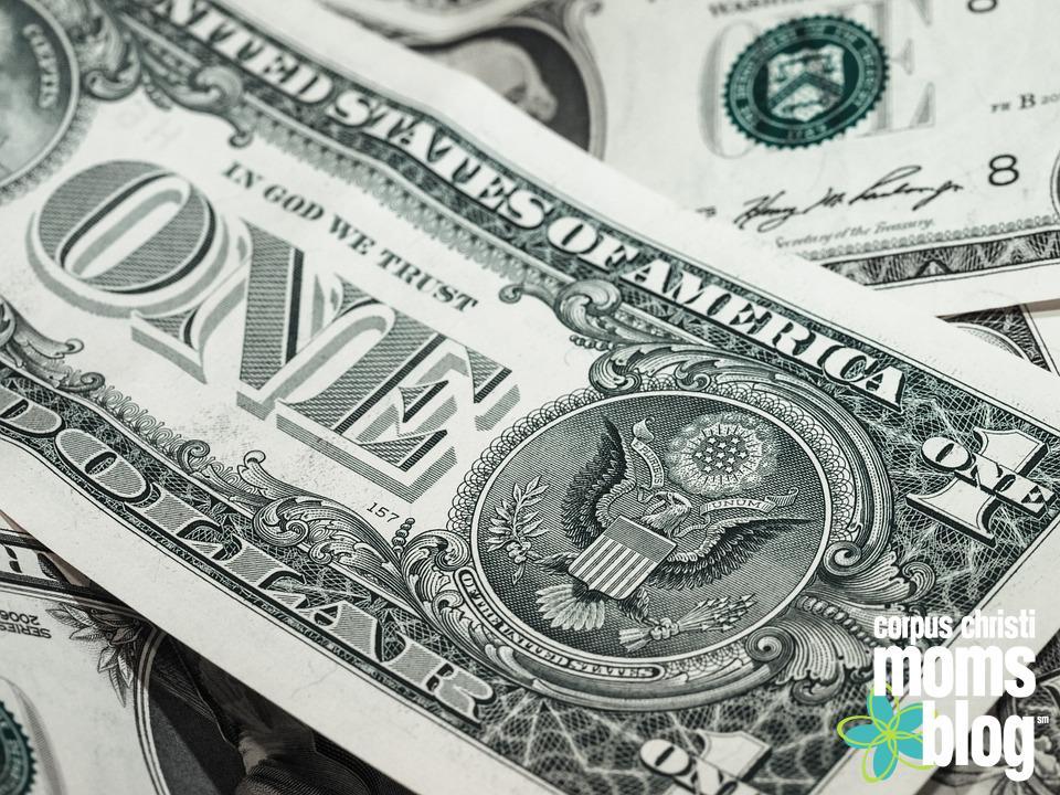 money- Corpus Christi Moms Blog