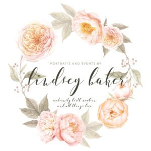 Portraits and Events by Lindsey Baker Photography Logo- Corpus Christi