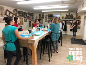 Board and Brush Class- Corpus Christi Moms Blog