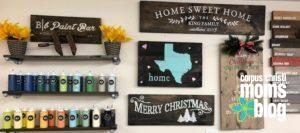 Board and Brush- Colors and Projects- Corpus Christi Moms Blog