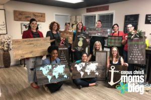Board and Brush- Final Projects- Corpus Christi Moms Blog