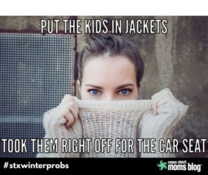 Jackets- STX Winter Problems- Corpus Christi Moms Blog