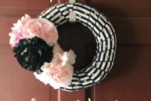 Spring Wreath- Corpus Christi Moms Blog