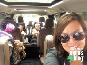 Pearl the mini-van Corpus Chrisiti moms blog