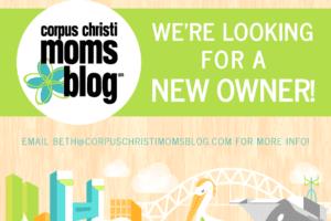 Corpus Christi Moms Blog New Owner