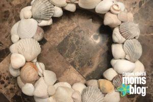 seashell wreath corpus christi moms blog