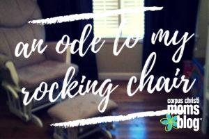 An ode to my Rocking Chair