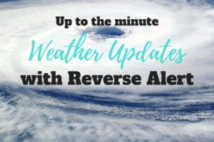 Weather Updates with Reverse Alert