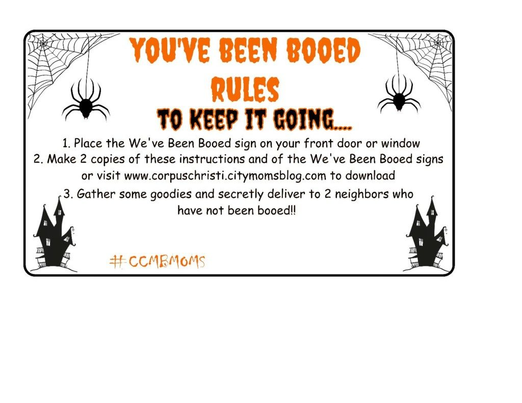 photo about Booed Signs Printable known as Youve been BOOED! :: A Halloween Do-it-yourself Printable