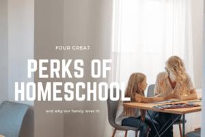 Perks of Homeschool