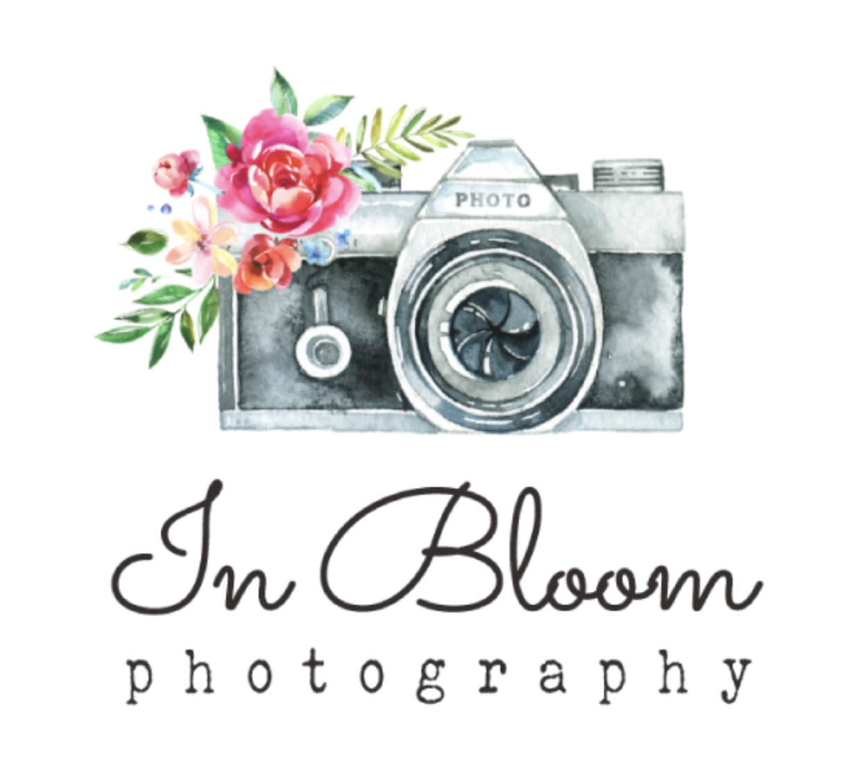 In Bloom Photography Logo