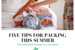 Five Tips for packing this summer (1)