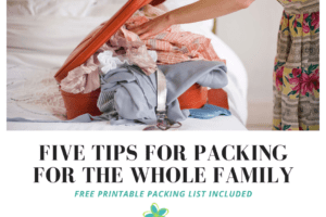 Five Tips for packing this summer